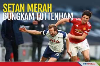 Manchester United Sukses Curi Poin Penuh dari Markas Tottenham