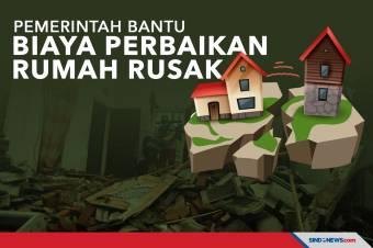 Dampak Gempa Malang, Pemerintah Bantu Biaya Perbaikan Rumah Rusak