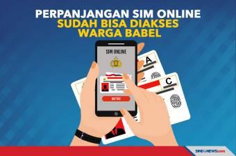Perpanjangan SIM Online Sudah Bisa Diakses Warga Bangka Belitung