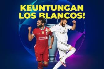 Fakta-Fakta Menarik Jelang Laga Liverpool vs Real Madrid