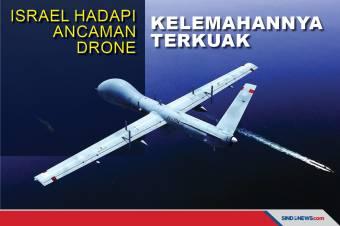 Israel Hadapi Ancaman dari Drone, Kelemahannya Terkuak