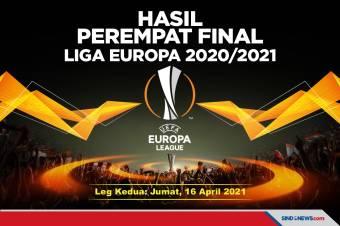Hasil Lengkap Pertandingan Liga Europa, Jumat 16 April 2021