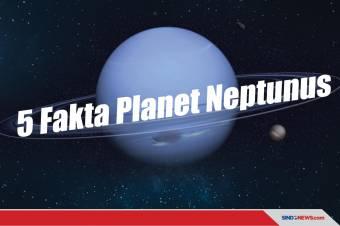 Fakta Planet Neptunus, dari Hujan Berlian hingga Badai Menakutkan