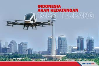 Indonesia akan Kedatangan Taksi Terbang EHang 216