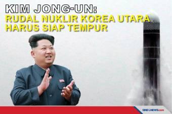 Kim Jong-un: Rudal Nuklir Korea Utara harus Siap Tempur