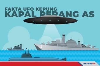 5 Fakta UFO Kepung Kapal Perang AS, Alien Akan Invasi Bumi?