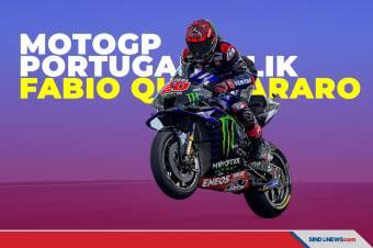 Kecelakaan Warnai Kemenangan Quartararo di MotoGP Portugal 2021