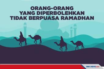 Orang-orang yang Diperbolehkan Tidak Berpuasa Ramadhan