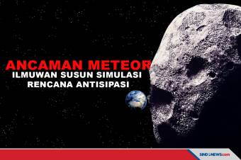 Ilmuwan Membuat Simulasi Jika Asteroid Menabrak Bumi