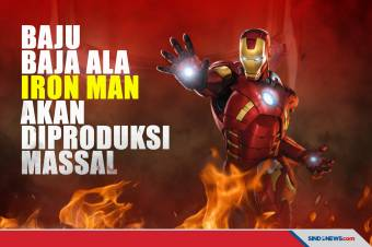 Keren! Baju Baja ala Iron Man Akan Diproduksi Massal