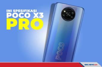Ini Spesifikasi Lengkap dan Unboxing Smartphone POCO X3 Pro
