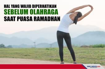 Hal yang Wajib Diperhatikan Sebelum Olahraga saat Puasa Ramadhan