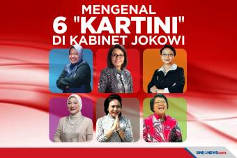 Peringati Hari Kartini, Ini 6 Menteri Perempuan di Kabinet Jokowi