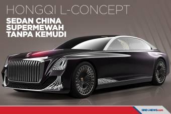 Hongqi L-Concept, Sedan Otonom Supermewah Tanpa Kemudi