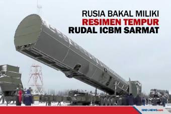 Rusia Bakal Miliki Resimen Tempur Rudal ICBM Sarmat pada 2022