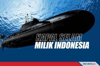 Beberapa Kapal Selam yang Dimiliki Pertahanan Indonesia