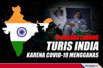 6 Negara Ini Larang Turis India karena COVID-19 Mengganas