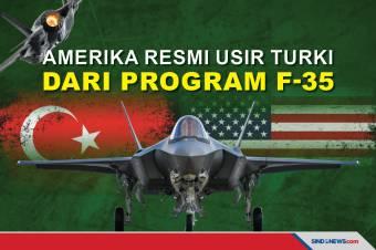 Amerika Serikat Resmi Usir Turki dari Program F-35