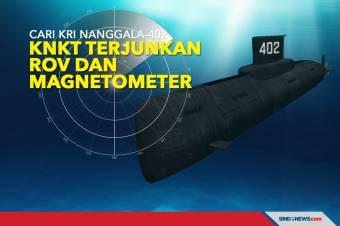 Cari KRI Nanggala-402, KNKT Terjunkan ROV dan Magnetometer