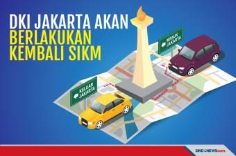 Jakarta Akan Berlakukan SIKM Mulai 6-17 Mei 2021, Mudik Dilarang