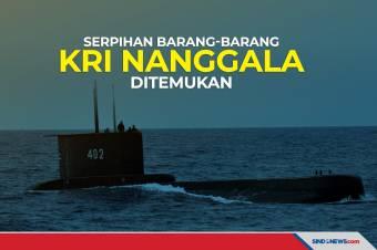 Serpihan dan Barang Diduga dari KRI Nanggala-402 Ditemukan