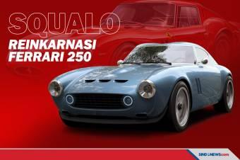 Squalo, Reinkarnasi Legenda Supercar Ferrari 250