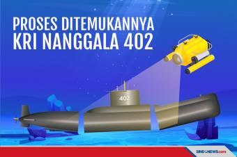 KRI Nanggala 402 Ditemukan Terpecah Jadi Tiga Bagian