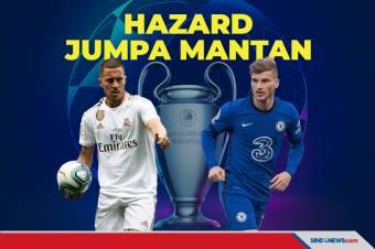 Duel Semifinal Liga Champions: Real Madrid vs Chelsea