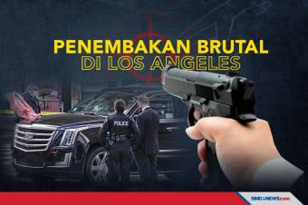 2 Tewas 1 Terluka dalam Penembakan Brutal di Los Angeles