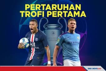 PSG vs Manchester City: Pertaruhan Trofi Pertama Liga Champions