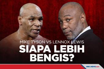 Mike Tyson Tantang Lennox Lewis, Siapa Lebih Bengis?