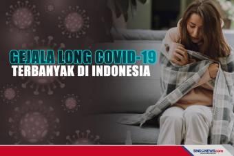 Ini Tiga Gejala Long COVID-19 Terbanyak di Indonesia