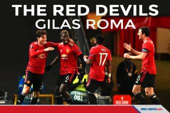 Tatap Final Liga Europa, Man United Menang Telak atas AS Roma