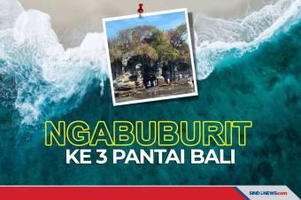 Tiga Pantai di Bali Jadi Lokasi Ngabuburit yang Indah