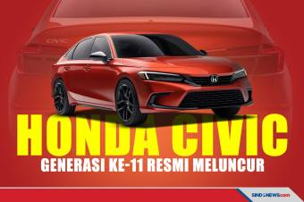 Honda Hadirkan All New Civic Generasi ke-11 di AS Tahun Depan