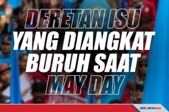 Deretan Isu yang Diangkat Buruh saat Peringatan May Day