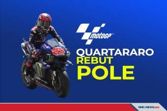 Raih Pole, Quartararo Start di Posisi Terdepan MotoGP Spanyol