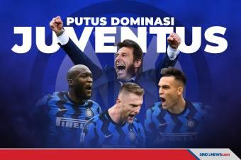 Sah! Inter Milan Scudetto Liga Italia Serie A 2020/2021