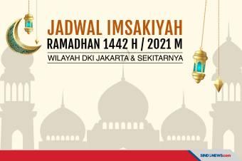 Jadwal Imsakiyah 3 Mei untuk Wilayah Jakarta dan Sekitarnya
