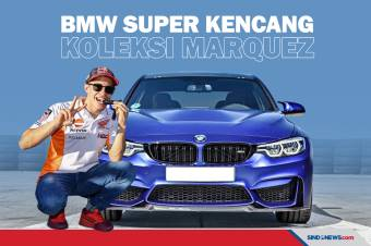 Deretan Koleksi Mobil BMW Super Kencang Marc Marquez