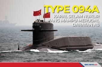 Type 094A, Kapal Selam Nuklir yang Mampu Merudal Daratan AS