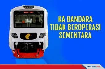 KA Bandara Soetta dan Kualanamu Tidak Beroperasi Sementara