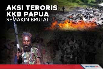 Teroris KKB Papua Bakar Gedung SD, Rumah Guru dan Puskesmas