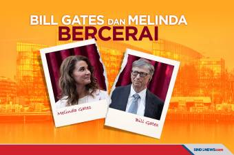 Bill Gates dan Melinda Umumkan Bercerai Melalui Twitter