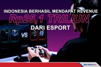 Revenue Indonesia dari eSport Tembus Rp25,1 Triliun