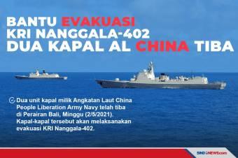 Kapal Angkatan Laut China Tiba di Perairan Bali