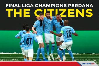Man City Singkirkan PSG, Rasakan Final Liga Champions Perdana