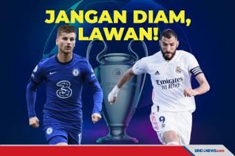 Duel Semifinal Liga Champions Leg 2: Chelsea vs Real Madrid