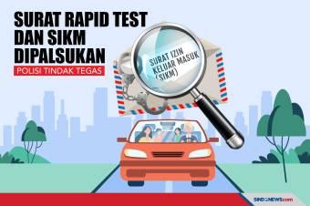 Surat Rapid Test dan SIKM Dipalsukan, Polisi Tindak Tegas