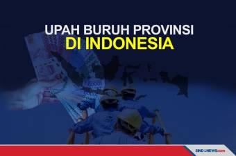 Upah Buruh Provinsi di Indonesia